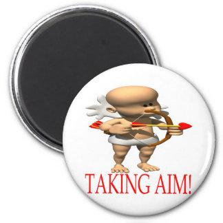 Taking Aim Fridge Magnets