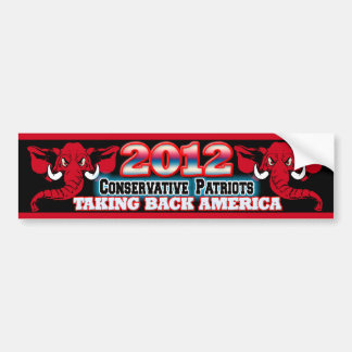 Taking Back America Bumper Sticker