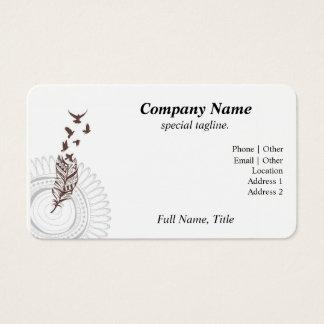 Taking Flight Business Card