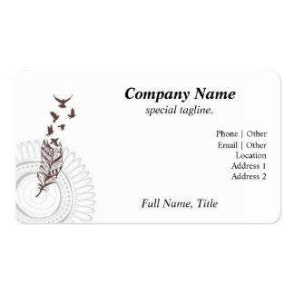 Taking Flight Pack Of Standard Business Cards