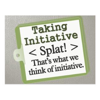Taking Initiative Postcard