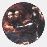 Taking of Christ Round Sticker
