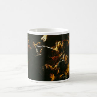 Taking of Christ with the Malchus Episode c. 1620 Coffee Mug