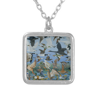 Taking Off 1996 Silver Plated Necklace
