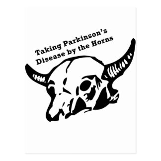 Taking Parkinson s Disease by the Horns Post Card