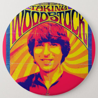 TakingWoodstockPoster 6 Cm Round Badge
