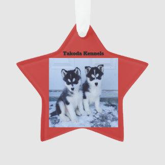 Takodas Husky ornaments