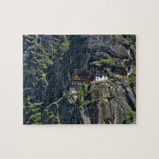 Taktsang Monastery on the cliff, Paro, Bhutan Jigsaw Puzzle