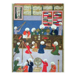 Takyuddin and other astronomers postcard