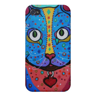 Talavera Cat iPhone 4 Case