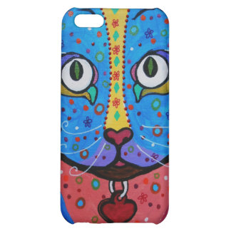 Talavera Cat Case For iPhone 5C