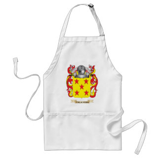 Talavera Family Crest (Coat of Arms) Aprons