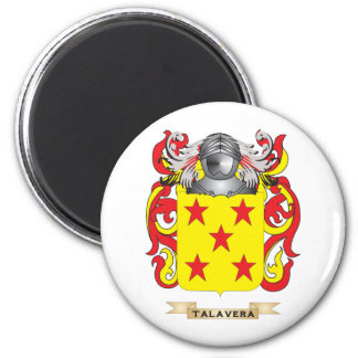 Talavera Family Crest Coat of Arms Refrigerator Magnets