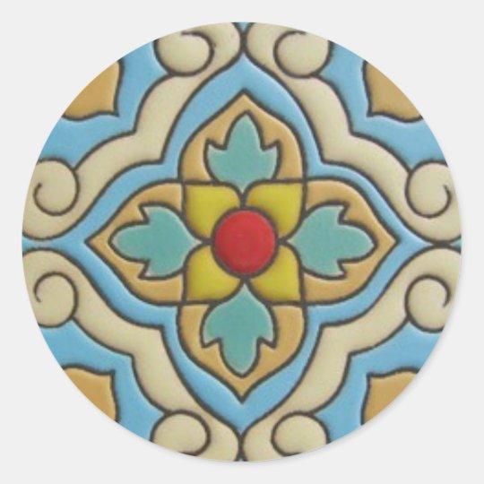 Talavera Tile 5 Sticker