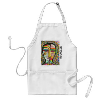 Talavera Virgin Of Guadalupe Miracles Adult Apron