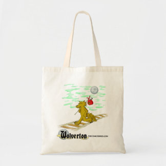 Talbot on the Tracks Tote Bag