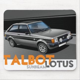 Talbot Sunbeam Lotus Mouse Mat