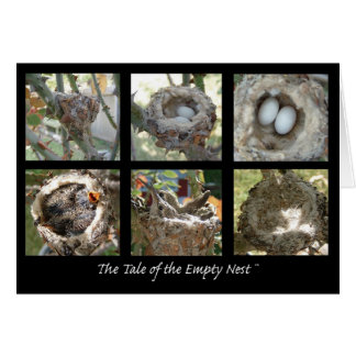 Tale of the Empty Nest Greeting Card