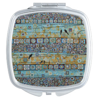 Tale of Two Cities - Birds Compact Mirror
