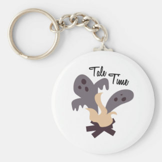 Tale Time Basic Round Button Keychain