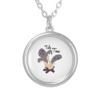 Tale Time Round Pendant Necklace