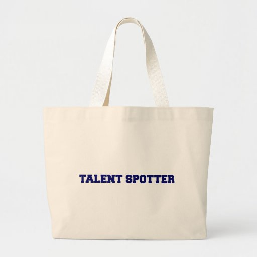 Talent Spotter Canvas Bags