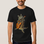 Talented tabby guitar player tshirts