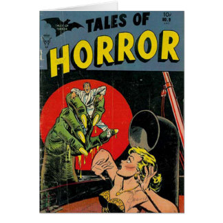 Tales of Horror comic Card