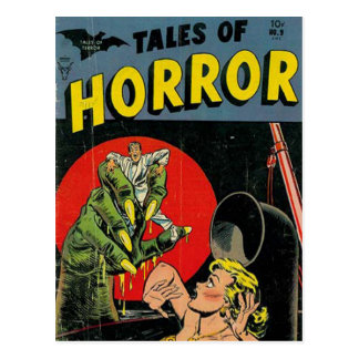 Tales of Horror comic Postcard