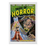 Tales of Horror Vintage Comic Book Cover Poster
