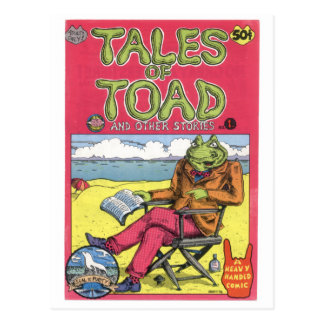 Tales of Toad 1 1970 Post Cards