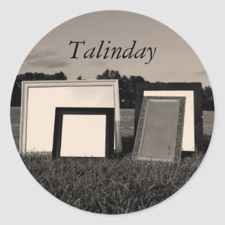 Talinday Mirrors Stickers