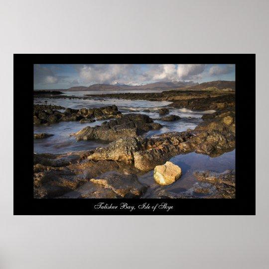 Talisker Bay. Poster by cARTerART
