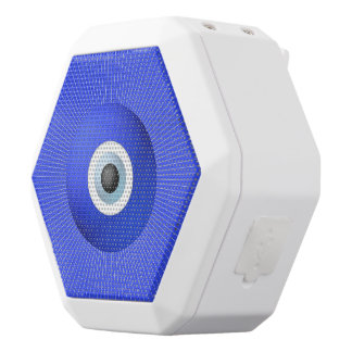 Talisman to Protect Against Evil Eye White Boombot Rex Bluetooth Speaker