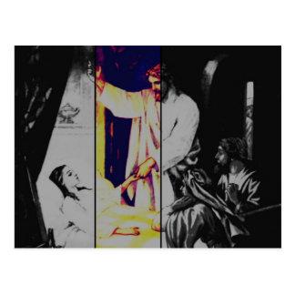 Talitha koum!  Mark 5-38:43 Postcard