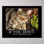 Talk About Catnip Artwork Posters