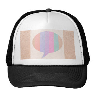 TALK Bubble :  Buy Blank or add Greeting Text Cap