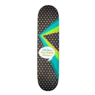 Talk Bubble Retro Pop Art Custom Skate Deck