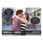 Talk Bubbles Wedding Save The Date Cards Personalised Invitation