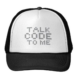 TALK CODE TO ME MESH HAT