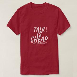 Talk Is Cheap - A MisterP Shirt