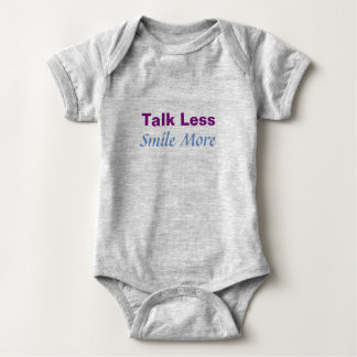 Talk Less Smile More Bodysuit