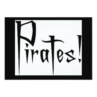 Talk like a Pirate Day Invite