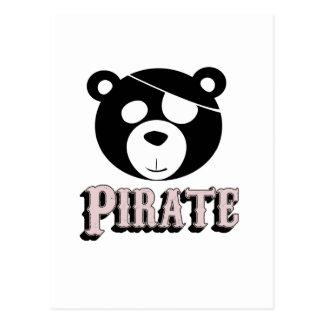 talk like a pirate day postcard