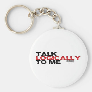 Talk Logically To Me Key Ring