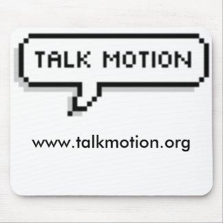 talk Motion Mousepad