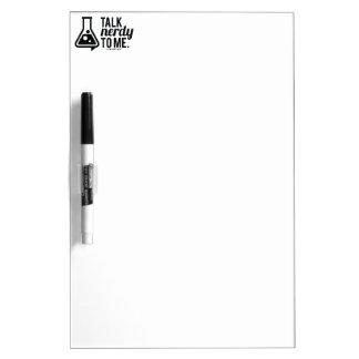 Talk Nerdy Dry Erase Board