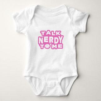 Talk Nerdy To Me Baby Bodysuit