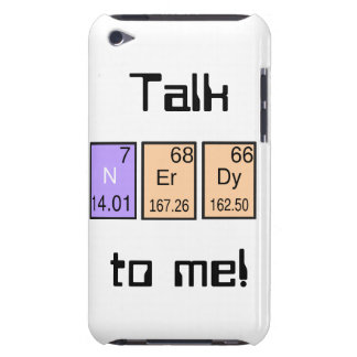 """Talk Nerdy To Me! i-pod touch case iPod Touch Cases"