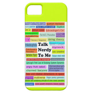 Talk Nerdy to Me iphone case